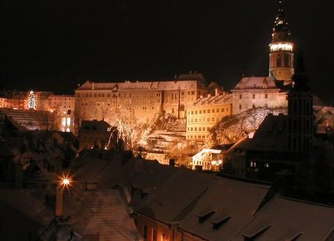 Noční prohlídka Český Krumlov